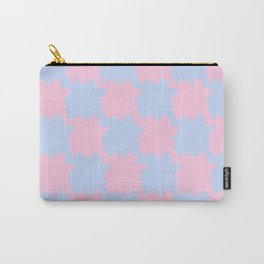 Tesselation blue and periwinkle Carry-All Pouch