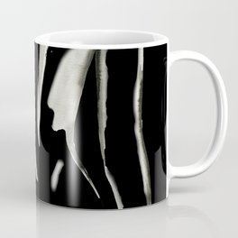 White on Black Nude No.2 Coffee Mug