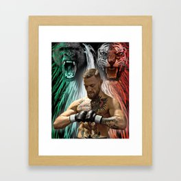 Conor McGregor - Beasts Within Framed Art Print