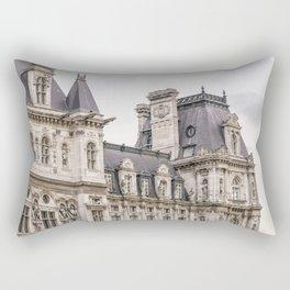 Paris Hotel de Ville Rectangular Pillow