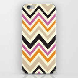August Chevron iPhone Skin