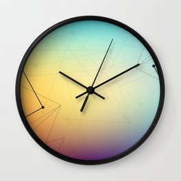 Abstract Background 16 Wall Clock