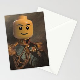 Le-go Man General Portait Painting | Fan Art Stationery Cards
