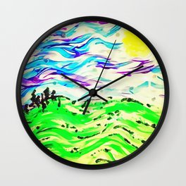 Free Range Wall Clock