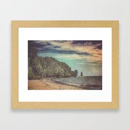 Apart From Me Framed Art Print