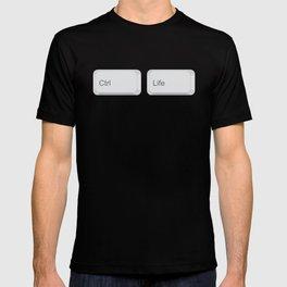 Ctrl + Life T-shirt