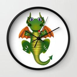 Cute Dragon Wall Clock