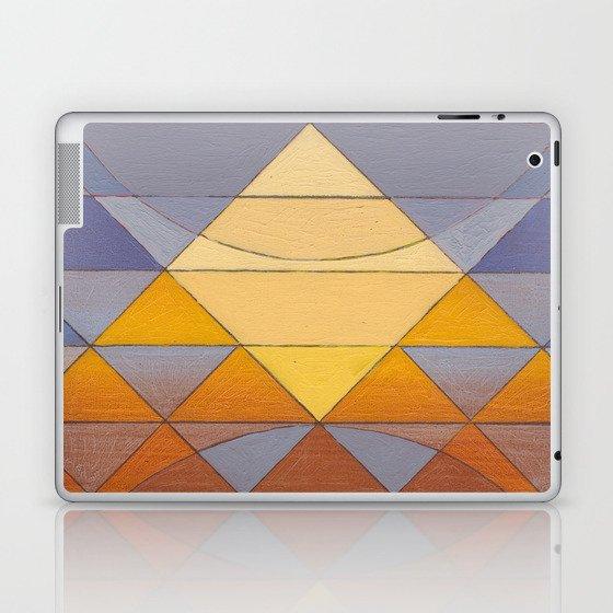 Pyramid Sun Mauve Purple Laptop & iPad Skin