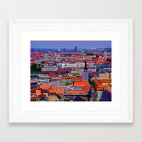 germany Framed Art Prints featuring Germany by Kimberly Vogel Travel Photographer
