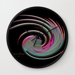 The whirl of life, W1.4B Wall Clock