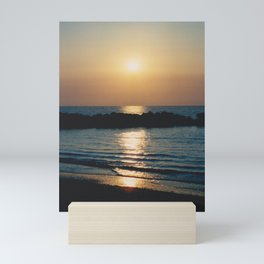 Sunset Ocean Bliss #6 #nature #art #society6 Mini Art Print