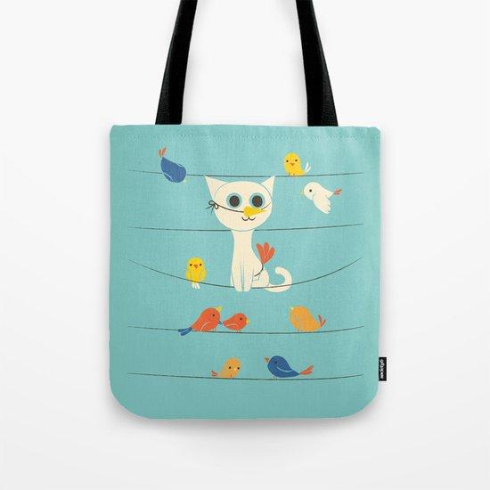 Birdwatching Tote Bag