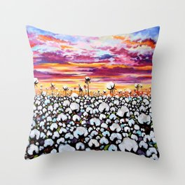 Delta Enchantment Throw Pillow