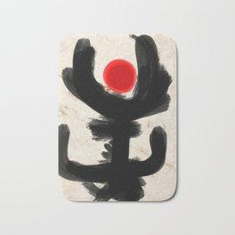 San Remo Abstract Art Zen Minimalism Bath Mat