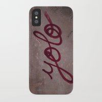 yolo iPhone & iPod Cases featuring Yolo by HMS James