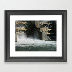 Containment 1 Framed Art Print