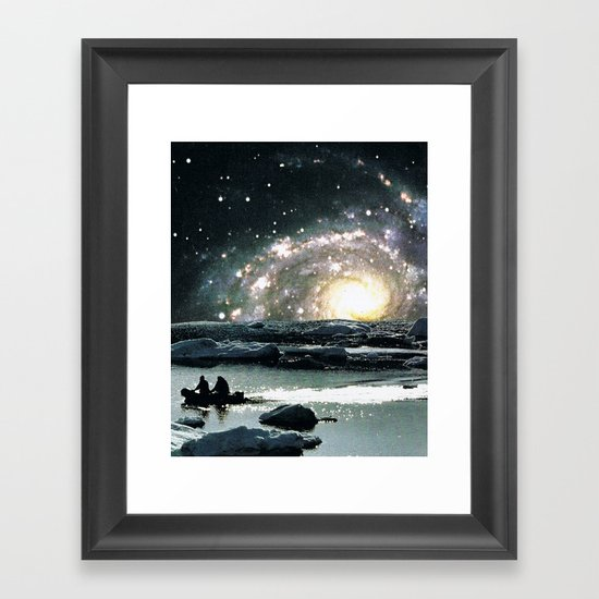 16h51 Framed Art Print