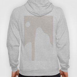Abstract Shape Series - Mountains in Taupe Hoody
