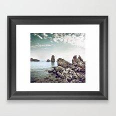 Polyphemus bay Framed Art Print
