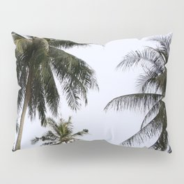 Tropical palm trees Pillow Sham