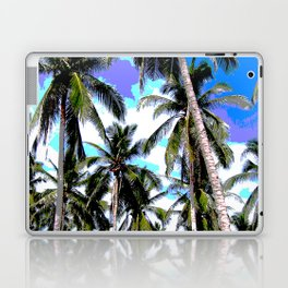 Palm Trees in a Posterised Design Laptop & iPad Skin