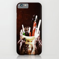 Brushes in a Jar iPhone 6s Slim Case