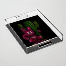 Desert Bunny Acrylic Tray