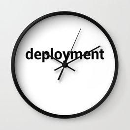 deployment Wall Clock