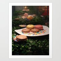 macarons Art Prints featuring Macarons by Chris Klemens