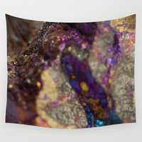 mineral Wall Tapestries featuring Mineral  by Andrew Zellmer