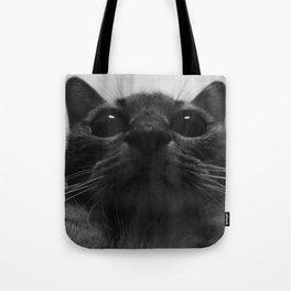 a cat Tote Bag