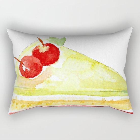 Lime Cake Rectangular Pillow