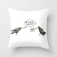 That's So Raven Throw Pillow