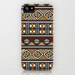 Motifs of Mud iPhone Case