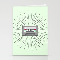 tape Stationery Cards featuring Tape by Colleen Sweeney