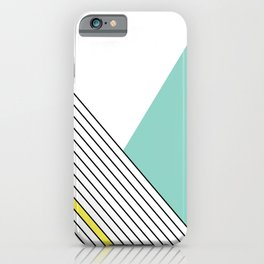 MINIMAL COMPLEXITY iPhone Case