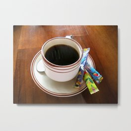Perfect Cup of Joe Metal Print