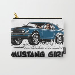Mustang Girl Carry-All Pouch