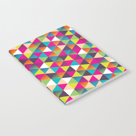 Crazy Pattern Notebook