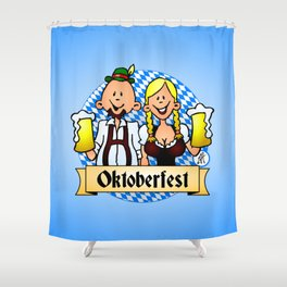 Oktoberfest Shower Curtain