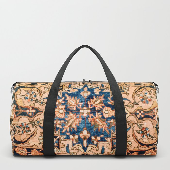 Ferahan Arak  Antique West Persian Rug Print Duffle Bag