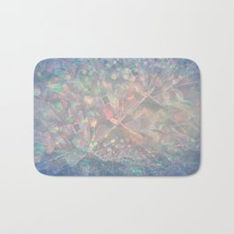 Sparkling Crystal Maze Abstract Bath Mat
