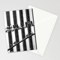 Pigeon Rows Stationery Cards