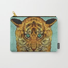 abstract tiger cub Carry-All Pouch
