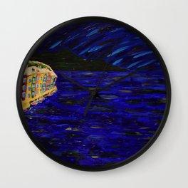 Night in Tuscany Wall Clock