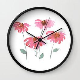 Pink ladys Wall Clock