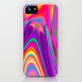 Candy pink melt iPhone Case