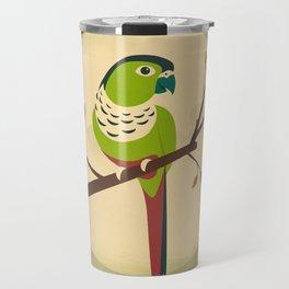 Green Cheek Conure Travel Mug