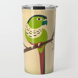 Green Cheek Conure Travel Mug