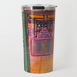 Donald Judd artillery Shed Travel Mug